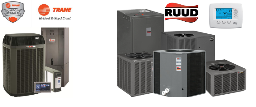Trane and Rudd HVAC Products